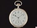 AW-9 システムグラスヒュッテ シルバーケース懐中時計