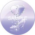 No.199 キラキラ・ダイヤとガラスの靴 タンザナイト