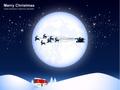 No1079 クリスマスの夜 【AI】