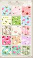 No1114 花柄 パターン