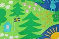 スウェーデンの老舗デパートNKデザインファブリック(130×204cm)
