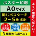 【A0サイズ】フォト光沢&半光沢&マット合成紙 2~5枚