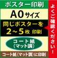 【A0サイズ】コート紙(マット調)2~5枚