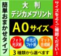 【A0サイズ】大判デジカメプリント(化粧断裁料を含む)