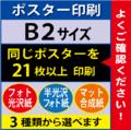 【B2サイズ】フォト光沢&半光沢&マット合成紙 21枚以上