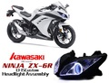 ZX6R HIDプロジェクターキット