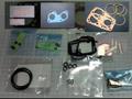 S600用キャブOHキット+アジャスト+インシュレーターパッキン2枚+ファイバワッシャ・スプリング(12種) (C)