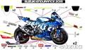 GSX-R 2015 EWC グラフィック デカール