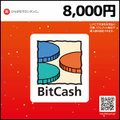 BitCashコード(8,000円)