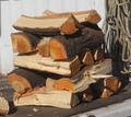 ヤマザクラ(山桜)の薪(令和元年11月伐採)