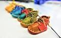 【限定】革製 靴型ストラップ