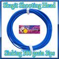 【イオ】 スカジット シューティングヘッド Skagit 300 grain シンキング blue
