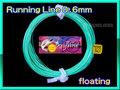 【イオ】フライ用 ランニングライン 0.6mm フローティング acid blue