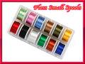 フロス 12色セット Floss 小さいボビンに巻かれたフロス12個セットです。