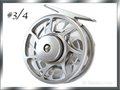 フライリール #3/4 マシンカット強力ディスクドラグ