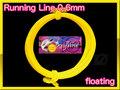 【イオ】フライ用 ランニングライン 0.6mm フローティング 黄色 yellow