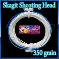 【イオ】スカジット シューティングヘッド Skagit 350 grain white&blue