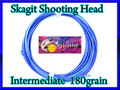 【イオ】 スカジット シューティングヘッド Skagit 180 grain インターミディエイト blue
