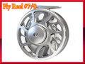 フライリール #7/8 アルミ 強力ディスクドラグ silver 銀色