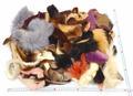 毛皮の端切れスクラップ(運賃着払い商品)
