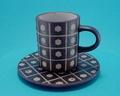 コーヒー碗皿 美濃焼