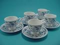 ロイヤルオニオン 5客コーヒー碗皿