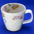 佐見焼 彩ハーブマグカップ 紫 勲山窯