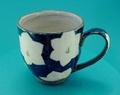 有田焼 星の花 マグカップ(緑)