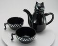 猫のティーフォーツー (黒) & (白)