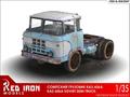 レッドアイアン1/35 KAZ-606Aトレーラーヘッド