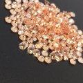 ダイヤカットダイヤカット6×3.5 オレンジ キュービックジルコニア