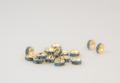 6×3 平型ロンデル(ゴールド) ライトサファイア