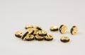 6×3 平型ロンデル(ゴールド) ブラック