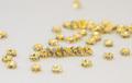 4x2 波型ロンデル(ゴールド) クリア