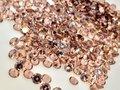 ダイヤカット6×3.5 キャメル キュービックジルコニア