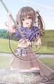 あおいまさみ先生:211013/姫繰三六五タペストリーコレクション(B2サイズ)