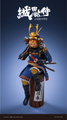Black13park   Oda Cat Samurai  織田猫侍 – 今日つるす垂釣の野望  WF2019会場限定アイテム