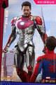 ★予約 ホットトイズ 1/6 アイアンマン・マーク47 DIECAST 『スパイダーマン:ホームカミング』再販
