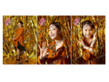 「銭に向け叫ぶ2020」ブロマイド 齊藤美和子