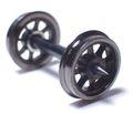 日光モデル・Φ10.5スポーク車輪ピボット軸・16番