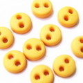ミニボタン4ミリ(黄色)