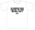 TWFW KICK OUT JAMS Tシャツ WHITE