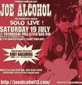 【会場支払い・チケット予約】6/19 豊橋 RiN /JOE ALCOHOL SOLO