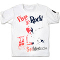 JAMF 10th anniv.JOE ALCOHOL VIVE LE ROCK T-Shirts RED&BLACK