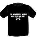 TWFW KICK OUT JAMS Tシャツ BLACK