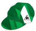 TOJ × le coq sportifコラボサイクルキャップ<グリーン>