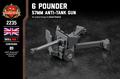 6 Pounder 57mm Anti-Tank Gun