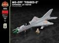 """MiG-21PF """"フィッシュベッド"""" - スーパーソニック ジェットファイター"""