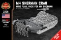 アメリカ軍 M4 Sherman Crab Add-on-Pack