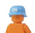 国連軍仕様ミリタリーヘルメット(UNプリント)
